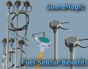 "Fuel level sensors ""GuardMagic DLLS"" series and ""GuardMagic DLLE"" series: Benefits"